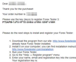 Forex tester registration key